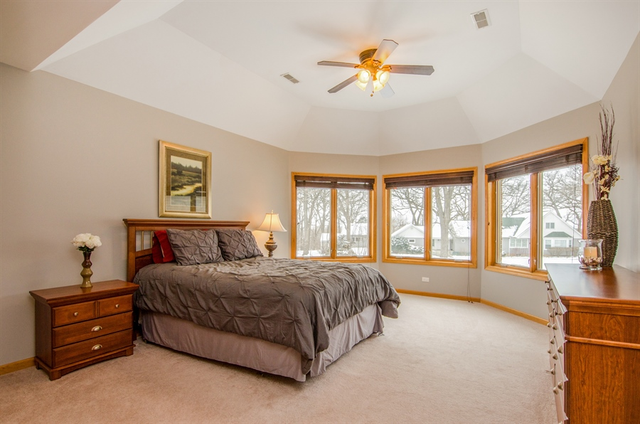 Real Estate Photography - 12265 Oakcrest Drive, Huntley, IL, 60142 - 2nd Bedroom