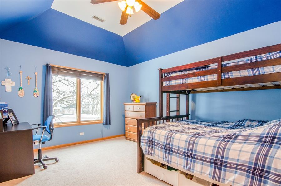 Real Estate Photography - 12265 Oakcrest Drive, Huntley, IL, 60142 - 3rd Bedroom