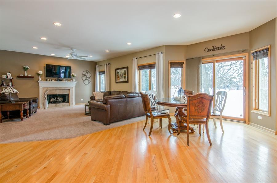Real Estate Photography - 12265 Oakcrest Drive, Huntley, IL, 60142 - Breakfast Room