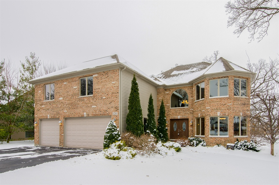 Real Estate Photography - 12265 Oakcrest Drive, Huntley, IL, 60142 - Front View