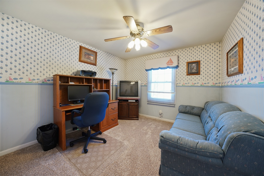 Real Estate Photography - 1480 C0L0RADO AVE, AURORA, IL, 60507 - 4th Bedroom
