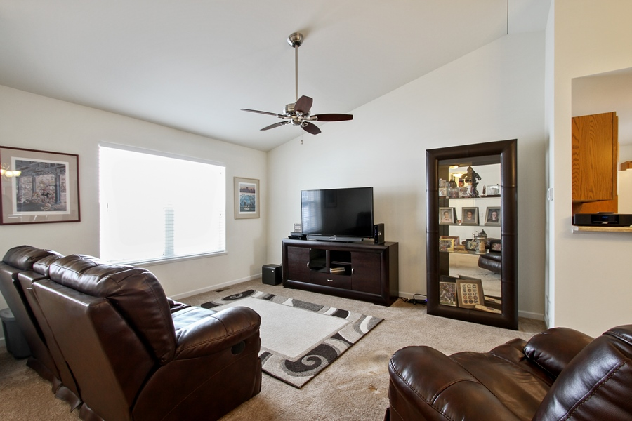 Real Estate Photography - 810 Hanson Ave, McHenry, IL, 60050 - Living Room
