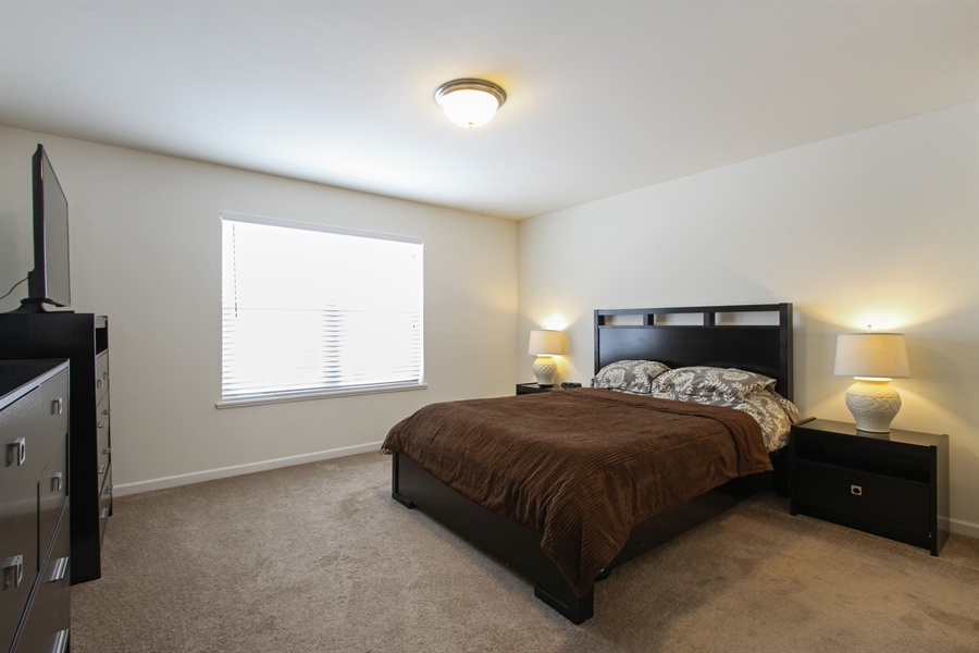 Real Estate Photography - 810 Hanson Ave, McHenry, IL, 60050 - Master Bedroom