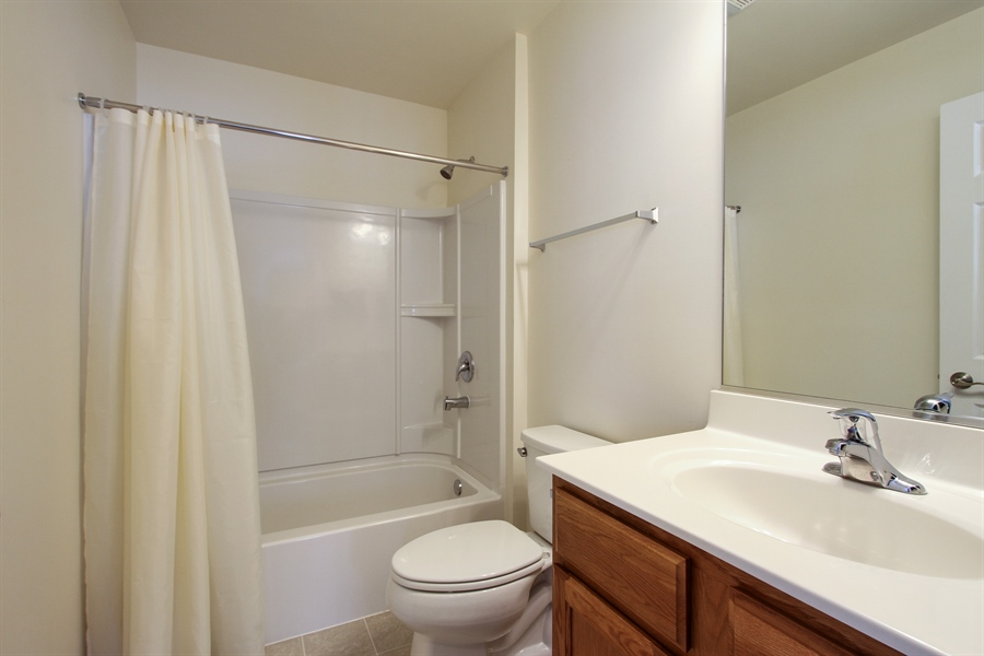 Real Estate Photography - 810 Hanson Ave, McHenry, IL, 60050 - Bathroom