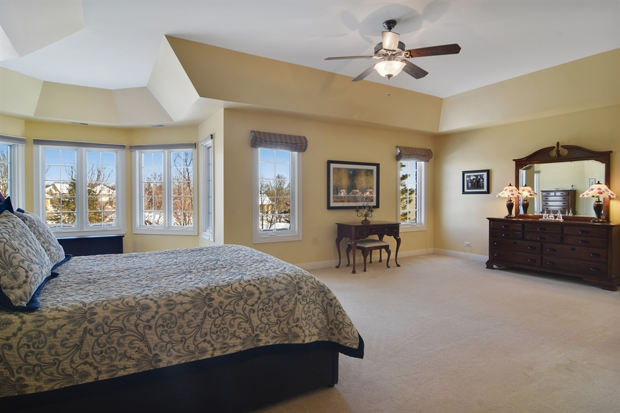 Real Estate Photography - 21558 W Goldfinch Ct, Kildeer, IL, 60047 - Master Bedroom