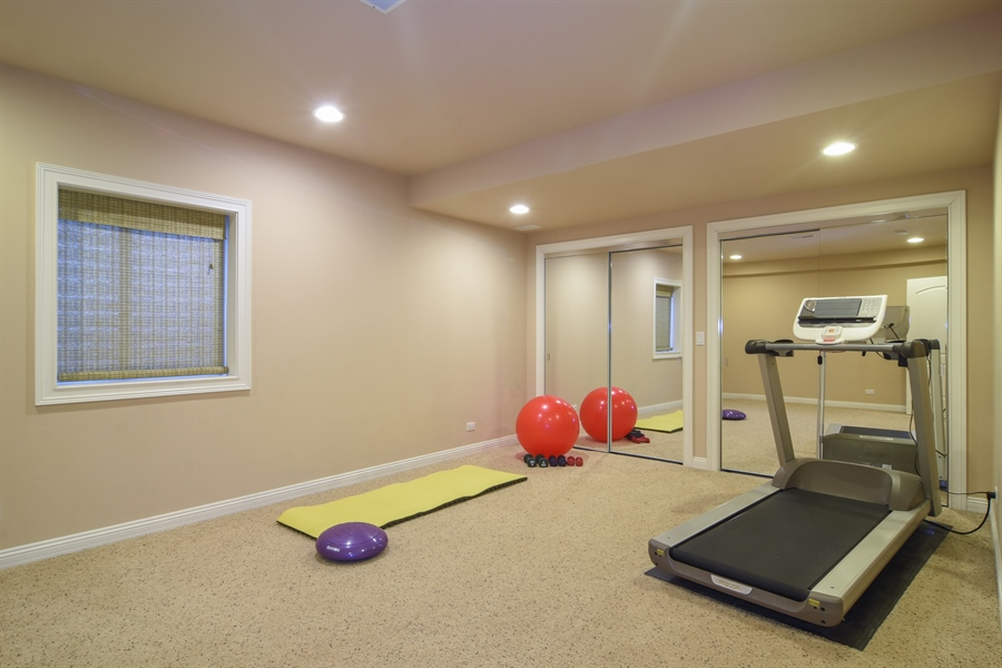 Real Estate Photography - 21558 W Goldfinch Ct, Kildeer, IL, 60047 - 5th Bedroom/Exercise Room