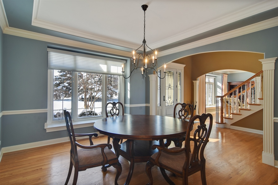 Real Estate Photography - 21558 W Goldfinch Ct, Kildeer, IL, 60047 - Dining Room