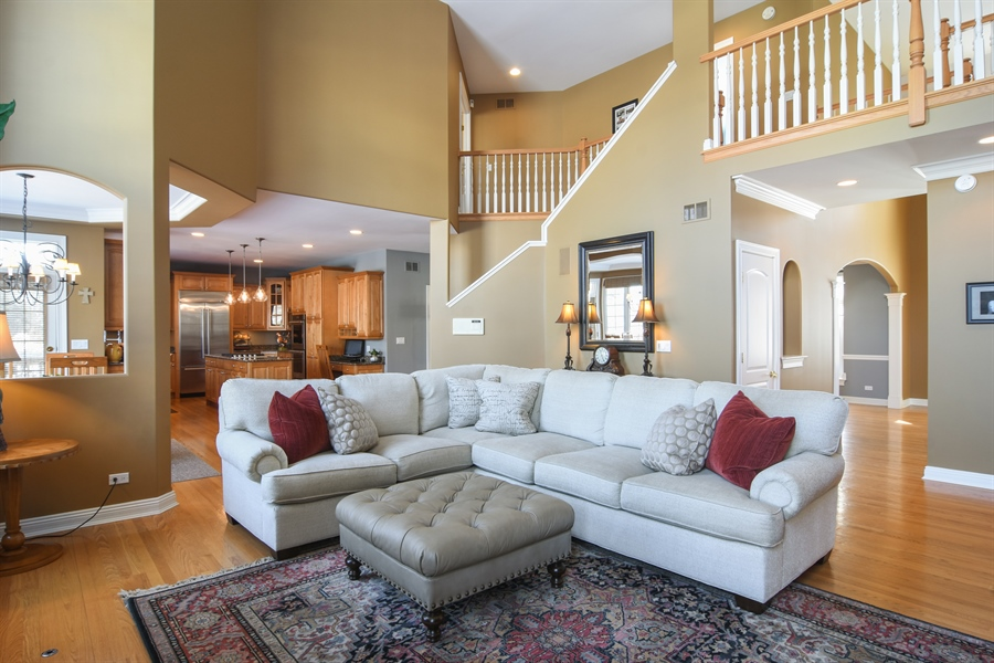 Real Estate Photography - 21558 W Goldfinch Ct, Kildeer, IL, 60047 - Great Room