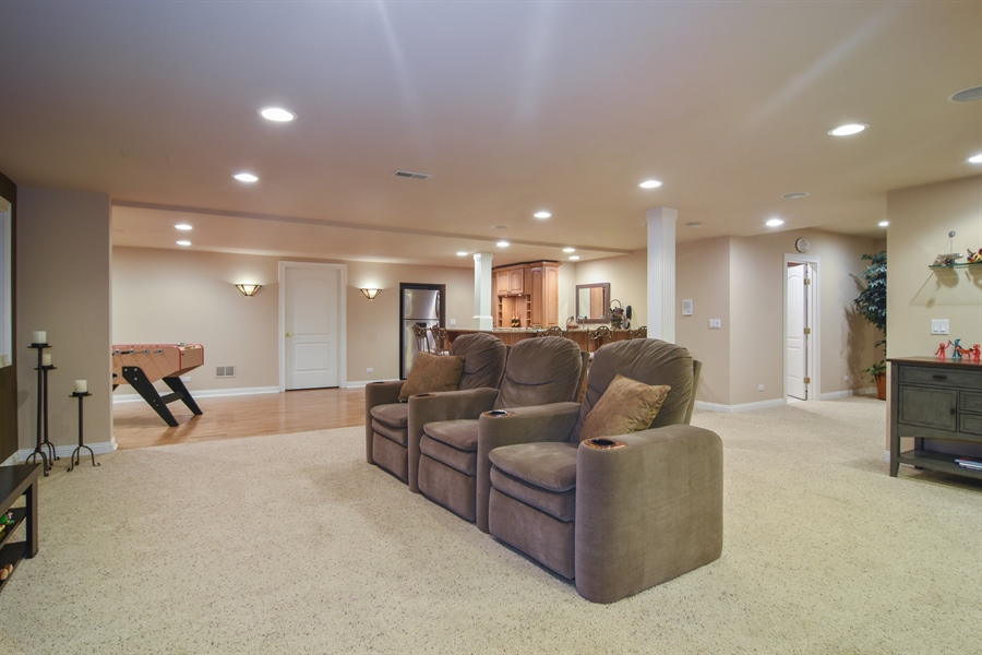 Real Estate Photography - 21558 W Goldfinch Ct, Kildeer, IL, 60047 - Basement