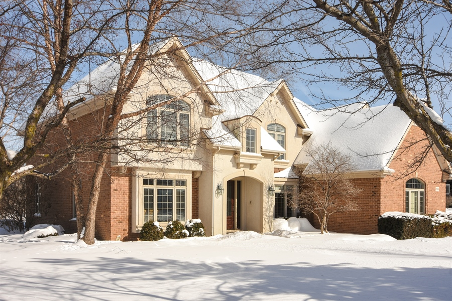 Real Estate Photography - 21558 W Goldfinch Ct, Kildeer, IL, 60047 - Front View