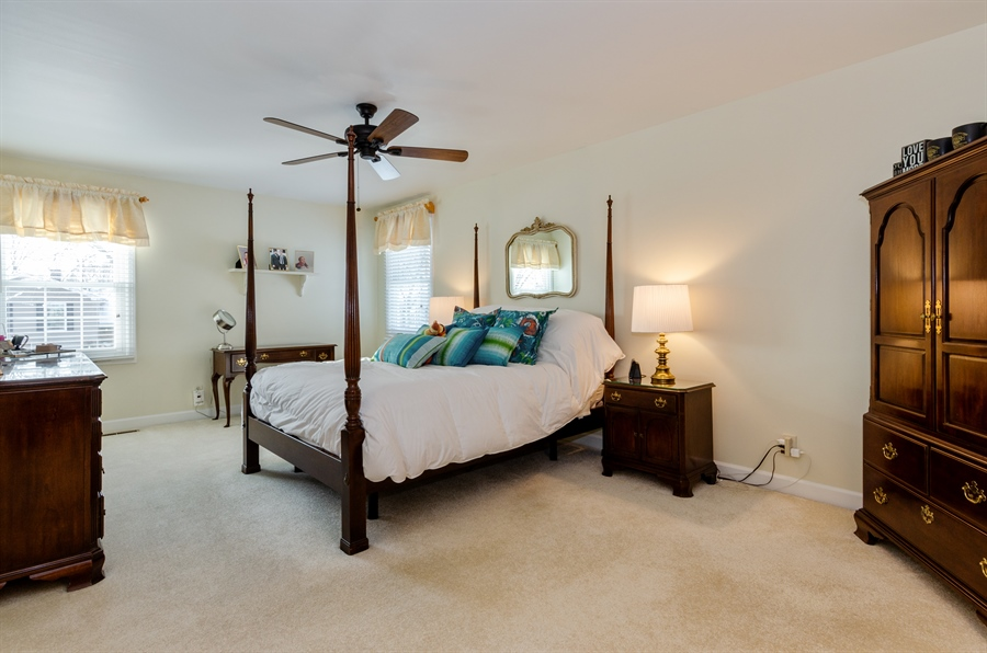 Real Estate Photography - 835 Glendale Drive, Crystal Lake, IL, 60014 - SPACIOUS MASTER SUITE