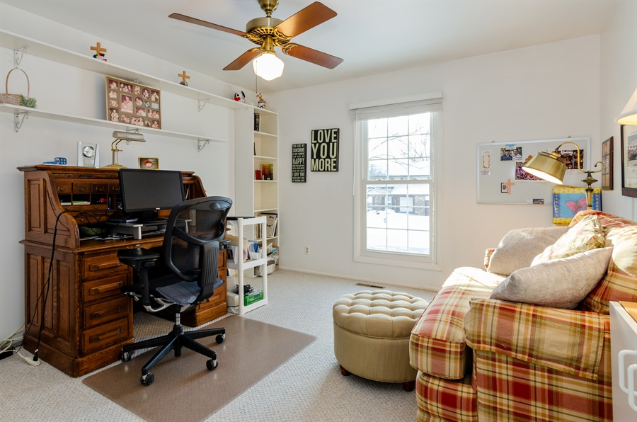Real Estate Photography - 835 Glendale Drive, Crystal Lake, IL, 60014 - 3RD BEDROOM OR OFFICE