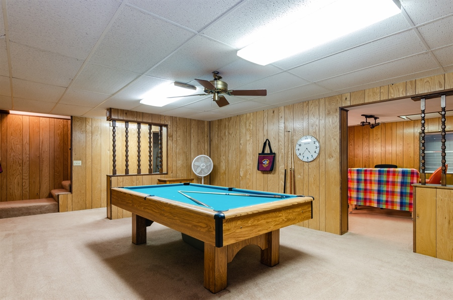 Real Estate Photography - 835 Glendale Drive, Crystal Lake, IL, 60014 - RECREATION ROOM