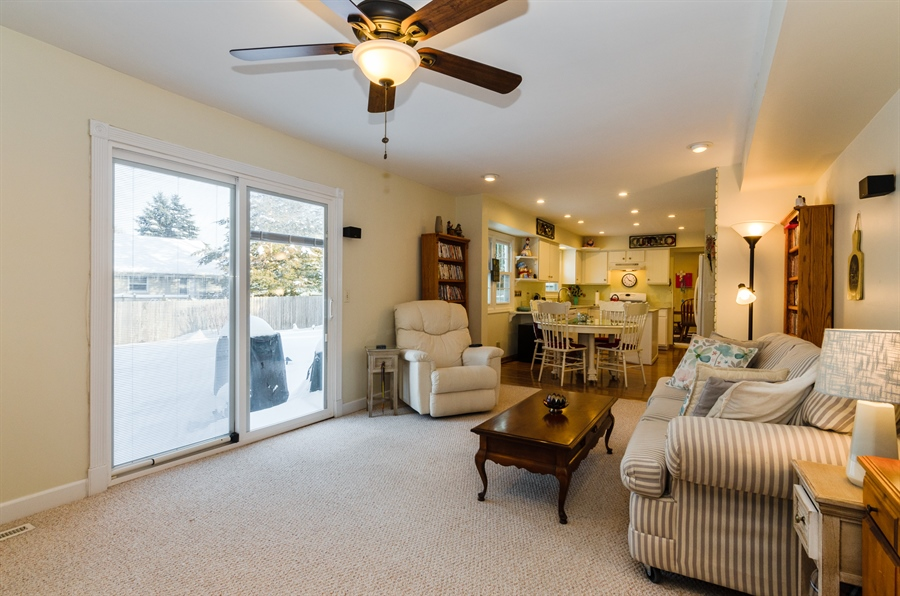 Real Estate Photography - 835 Glendale Drive, Crystal Lake, IL, 60014 - Family Room