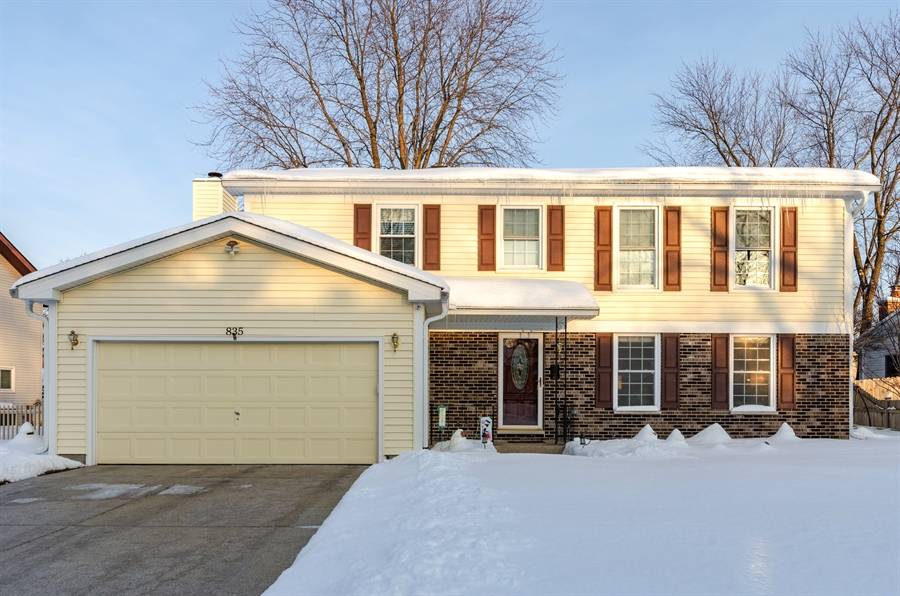 Real Estate Photography - 835 Glendale Drive, Crystal Lake, IL, 60014 - Front View