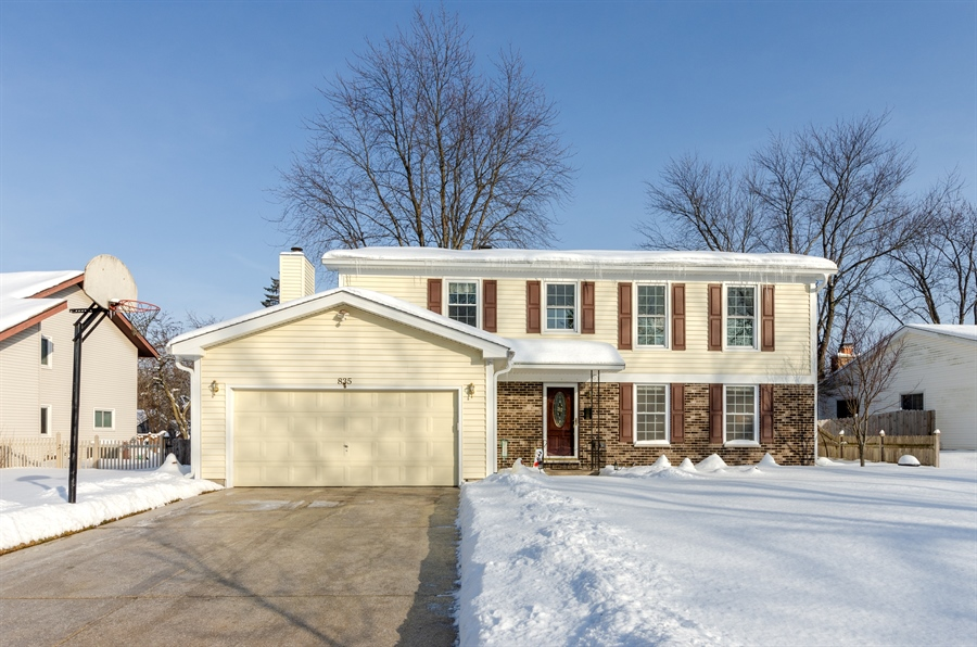 Real Estate Photography - 835 Glendale Drive, Crystal Lake, IL, 60014 - WELCOME HOME!