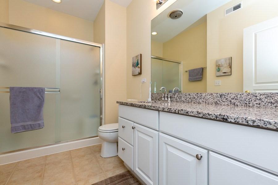 Real Estate Photography - 12627 Rock Island Trail, Huntley, IL, 60142 - Master Bathroom