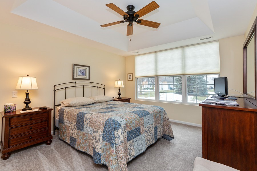 Real Estate Photography - 12627 Rock Island Trail, Huntley, IL, 60142 - Master Bedroom