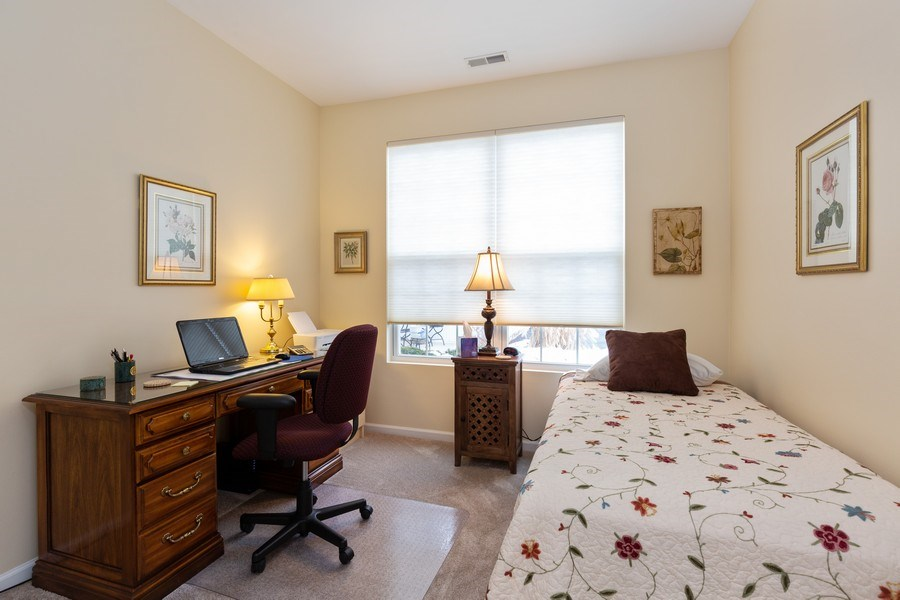 Real Estate Photography - 12627 Rock Island Trail, Huntley, IL, 60142 - 2nd Bedroom