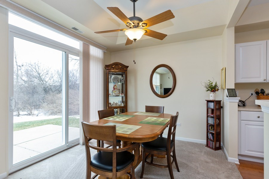 Real Estate Photography - 12627 Rock Island Trail, Huntley, IL, 60142 - Dining Room