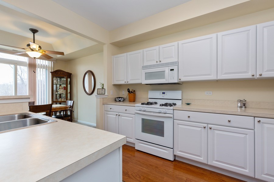 Real Estate Photography - 12627 Rock Island Trail, Huntley, IL, 60142 - Kitchen