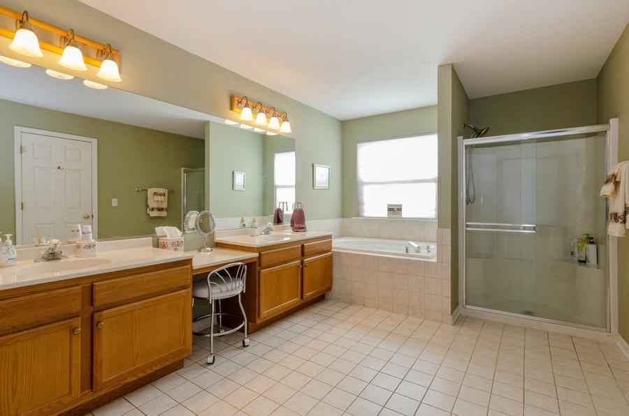 Real Estate Photography - 57 Sarah Dr., Crystal Lake,, IL, 60014 - Master Bathroom