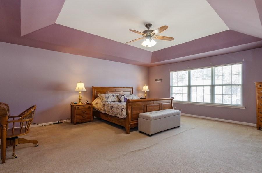 Real Estate Photography - 57 Sarah Dr., Crystal Lake,, IL, 60014 - Master Bedroom