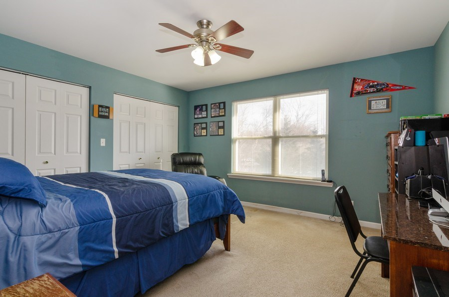 Real Estate Photography - 57 Sarah Dr., Crystal Lake,, IL, 60014 - 2nd Bedroom