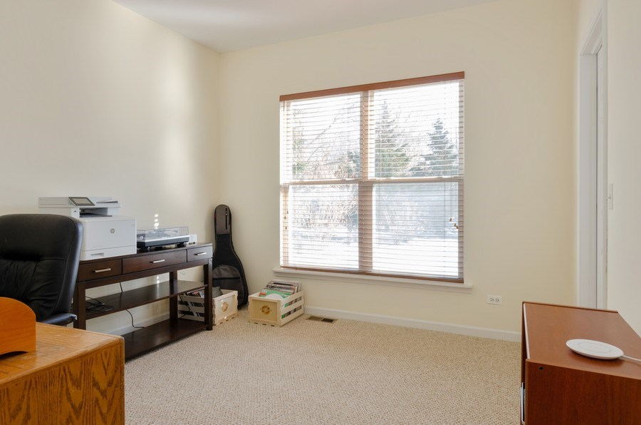 Real Estate Photography - 57 Sarah Dr., Crystal Lake,, IL, 60014 - 5th Bedroom/Office (1st floor/main level)