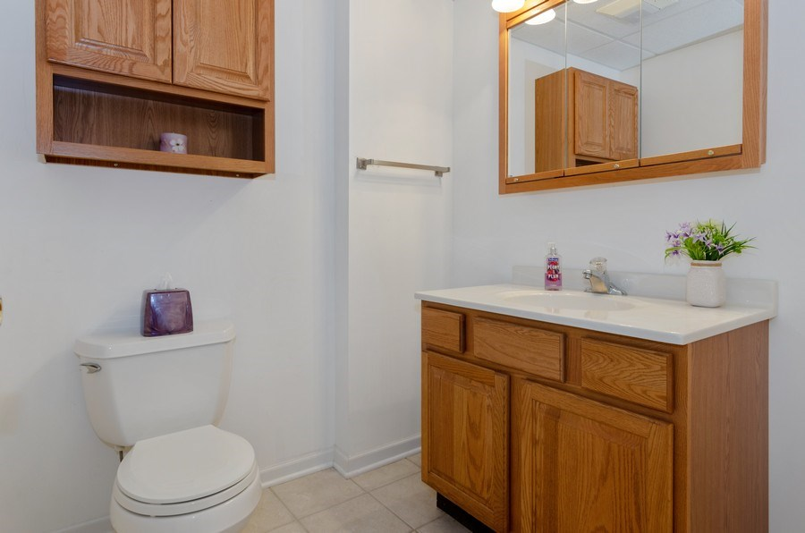 Real Estate Photography - 57 Sarah Dr., Crystal Lake,, IL, 60014 - Bathroom-Lower Level