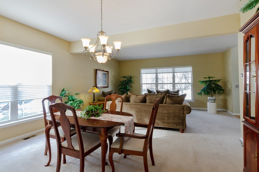 Real Estate Photography - 57 Sarah Dr., Crystal Lake,, IL, 60014 - Dining Room