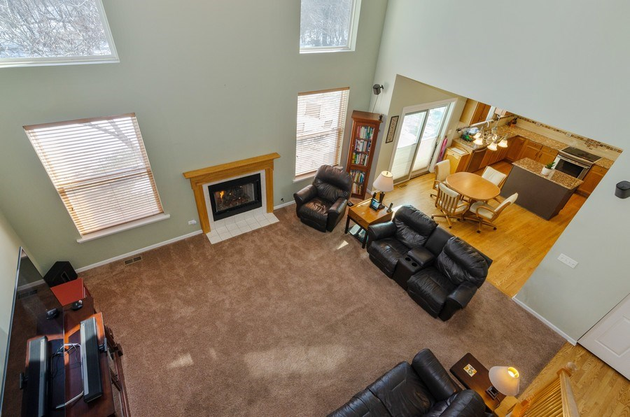 Real Estate Photography - 57 Sarah Dr., Crystal Lake,, IL, 60014 - Family Room