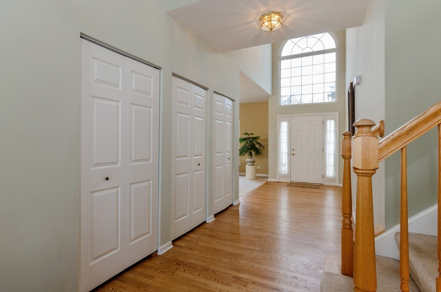 Real Estate Photography - 57 Sarah Dr., Crystal Lake,, IL, 60014 - Foyer