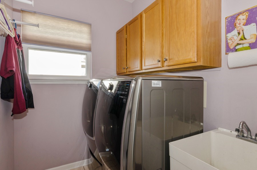 Real Estate Photography - 57 Sarah Dr., Crystal Lake,, IL, 60014 - Laundry Room