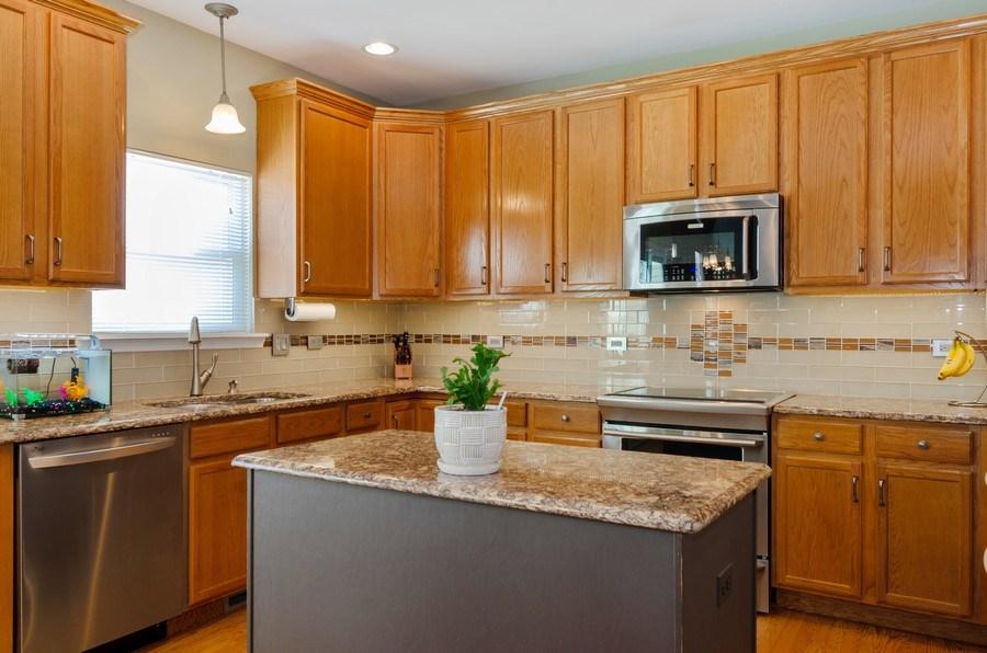 Real Estate Photography - 57 Sarah Dr., Crystal Lake,, IL, 60014 - Kitchen