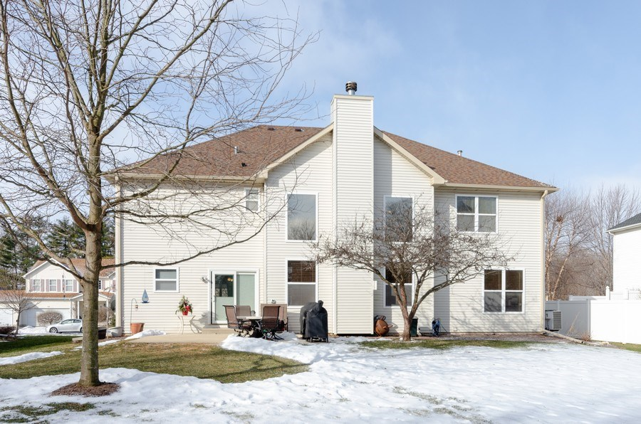 Real Estate Photography - 57 Sarah Dr., Crystal Lake,, IL, 60014 - Rear View