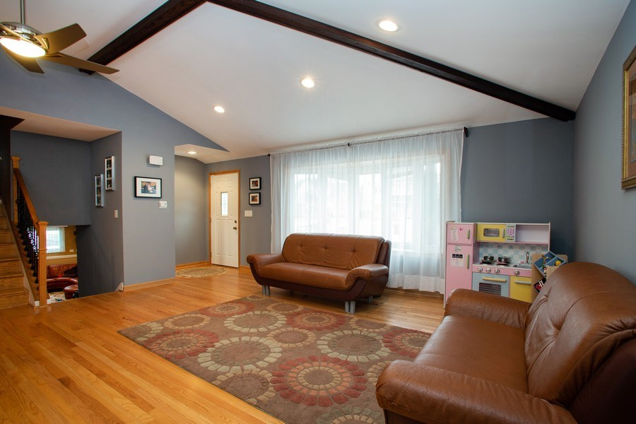Real Estate Photography - 237 W Devon, Roselle, IL, 60172 - Living Room