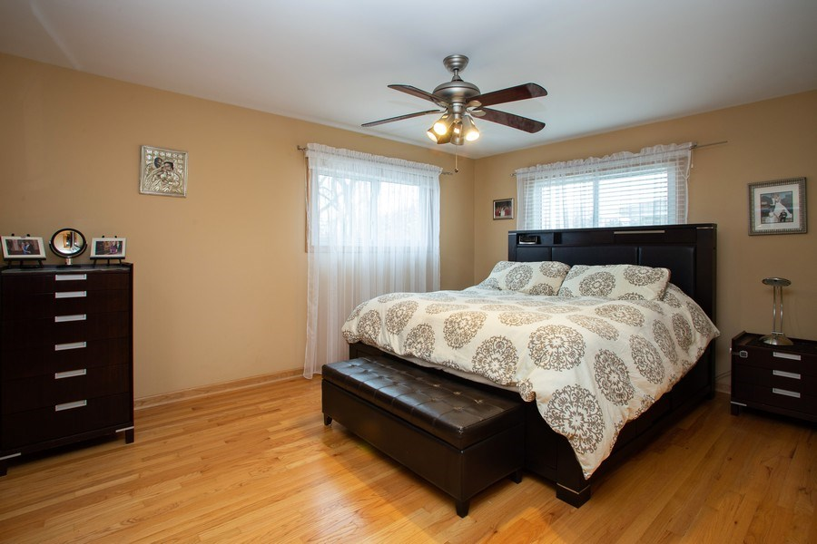 Real Estate Photography - 237 W Devon, Roselle, IL, 60172 - Master Bedroom