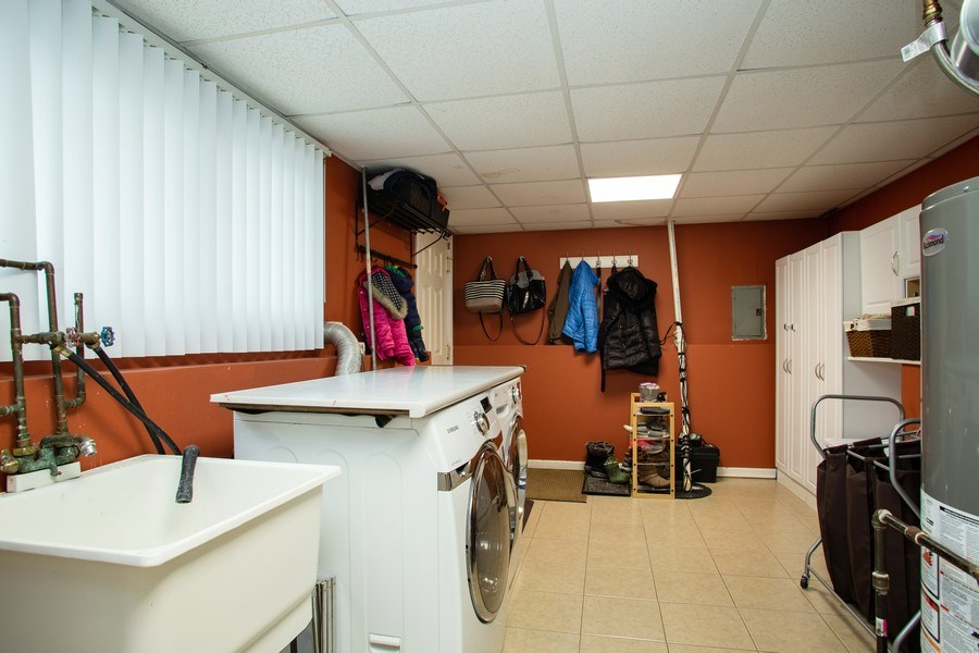 Real Estate Photography - 237 W Devon, Roselle, IL, 60172 - Laundry Room