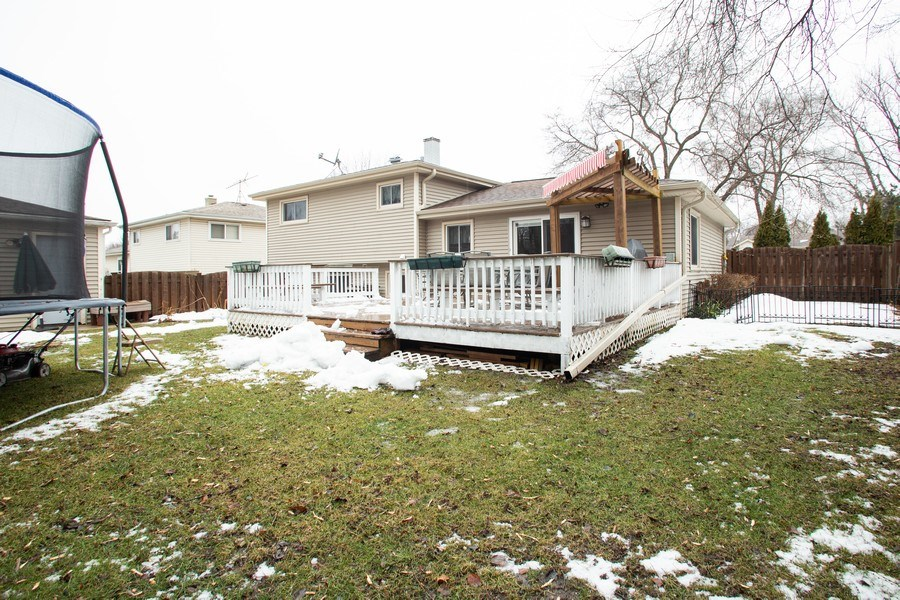 Real Estate Photography - 237 W Devon, Roselle, IL, 60172 - Rear View