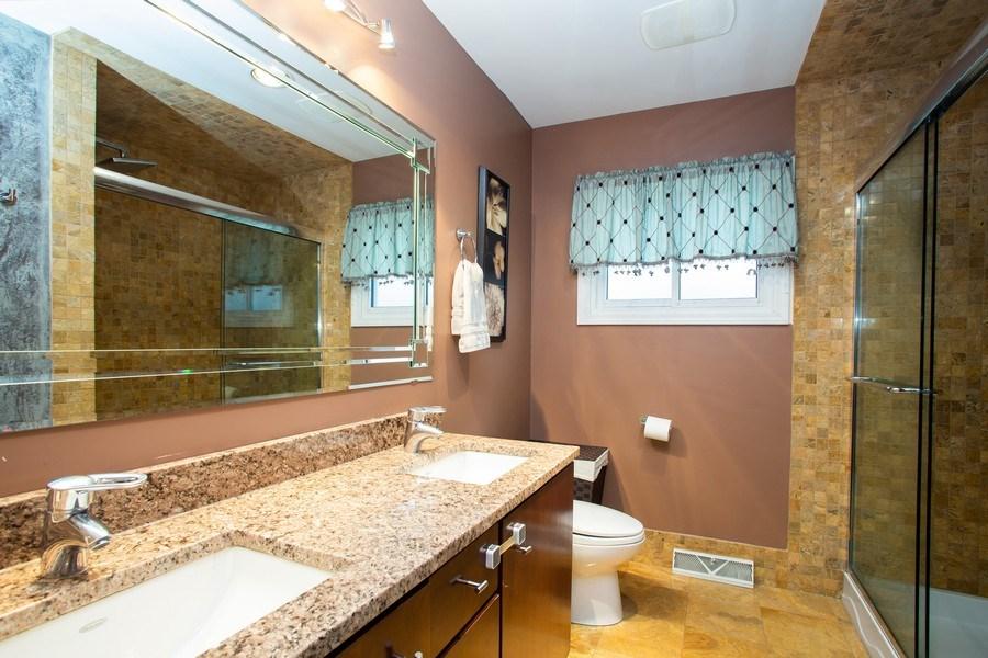 Real Estate Photography - 237 W Devon, Roselle, IL, 60172 - Bathroom