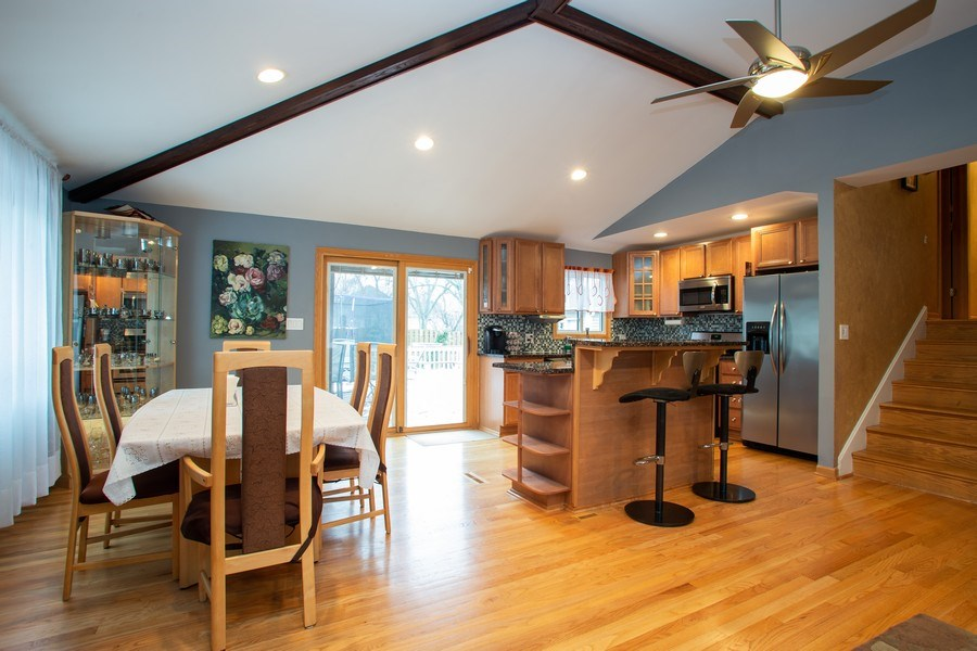 Real Estate Photography - 237 W Devon, Roselle, IL, 60172 - Kitchen / Dining Room