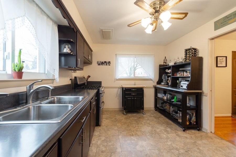 Real Estate Photography - 720 S LaGrange Rd, La Grange, IL, 60525 - Kitchen