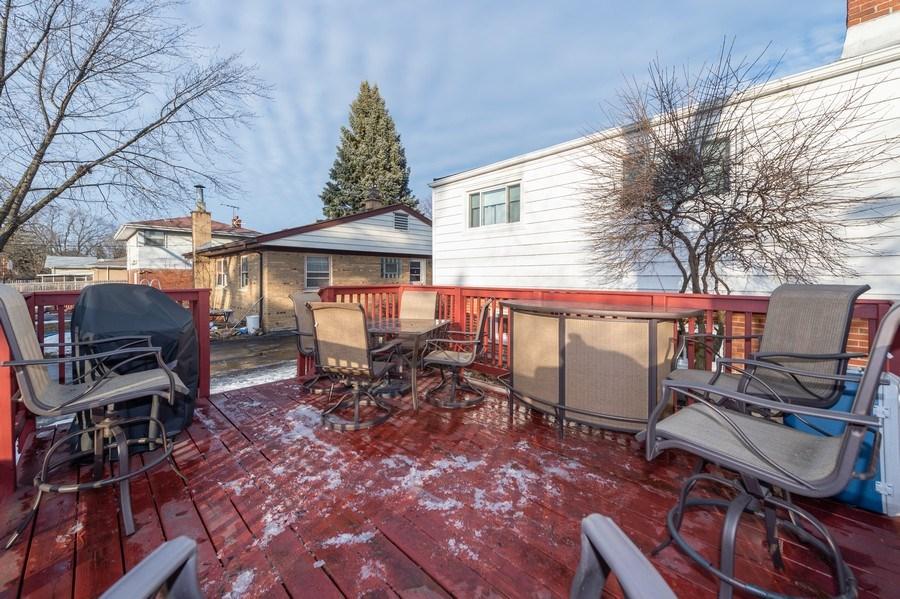 Real Estate Photography - 720 S LaGrange Rd, La Grange, IL, 60525 - Deck