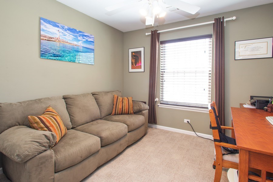 Real Estate Photography - 272 Kings Mill Court, Unit C2, Schaumburg, IL, 60193 - 2nd Bedroom