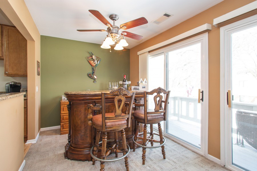 Real Estate Photography - 272 Kings Mill Court, Unit C2, Schaumburg, IL, 60193 - Dining Room