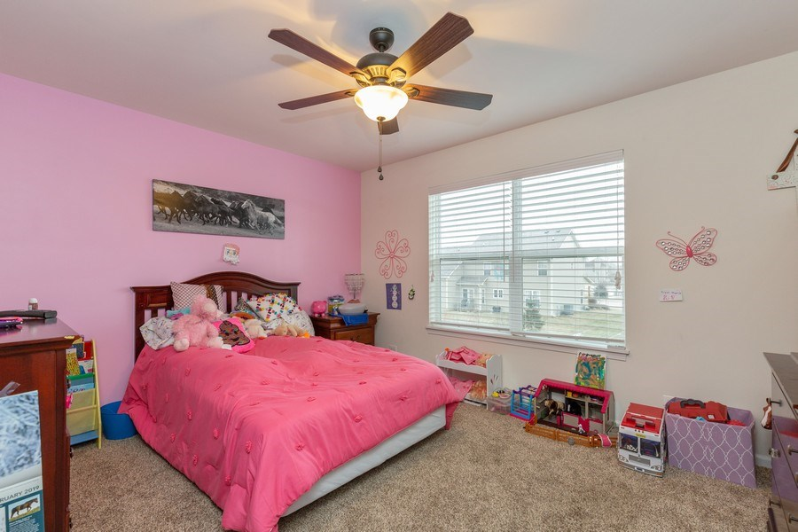 Real Estate Photography - 161 N Bend Way, Elgin, IL, 60124 - 2nd Bedroom