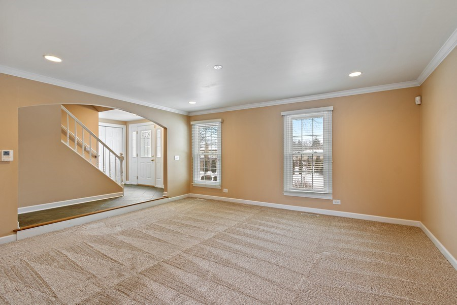 Real Estate Photography - 1152 W. Chatham Drive, Palatine, IL, 60067 - Foyer/Living Room