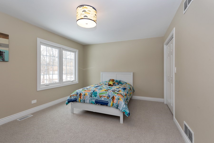 Real Estate Photography - 104 Crooked Creek, Barrington, IL, 60010 - 3rd Bedroom