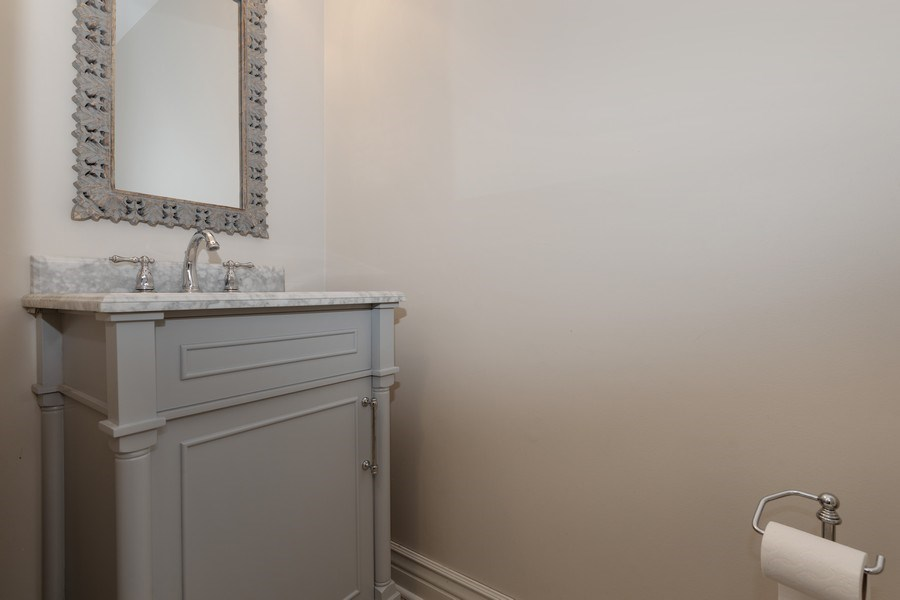 Real Estate Photography - 104 Crooked Creek, Barrington, IL, 60010 - Half Bath